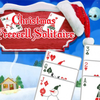 Christmas Freecell Solitaire