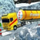 Extreme Winter Oil Tanker Truck Driver