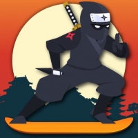 Lava And Ninja Skateboard