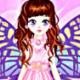 Pink Butterfly Dress Up