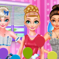 PRINCESS BALLOON FESTIVAL DRESS UP