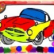 Racing Cars Coloring Book