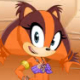 Sonic Boom: Sticks The Badger Dress Up