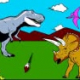 Dinosaur King: Land of Dinosaur Painting