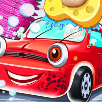 Kid car wash garage