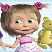 Masha and the Bear: House Cleaning