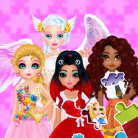 Puzzles - Princesses and Angels New Look